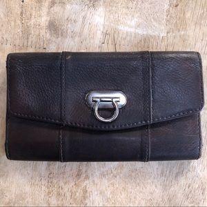Genuine Leather Horseshoe Wallet